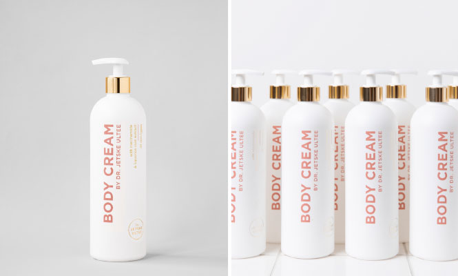 Beeldmateriaal Body Cream